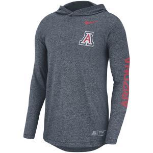 ナイキ メンズ ロンT Arizona Wildcats Nike Marled L/S Hooded T-Shirt Tシャツ 長袖 Navy|troishomme