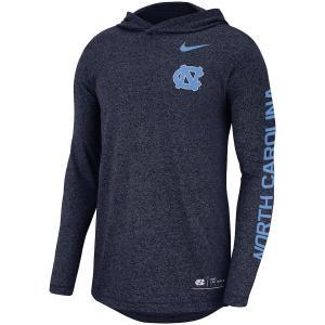 ナイキ メンズ ロンT North Carolina Tar Heels Nike Marled L/S T-Shirt Tシャツ 長袖 Navy|troishomme