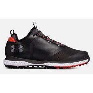 アンダーアーマー メンズ Under Armour Tempo Sport 2 Golf Shoes ゴルフシューズ Black / Red|troishomme