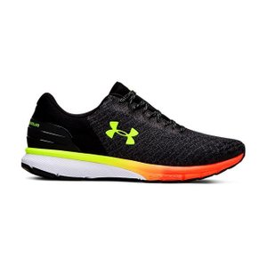 アンダーアーマー メンズ Under Armour Charged Escape 2 Running Shoes ランニングシューズ スニーカー Black/Orange Glitch|troishomme