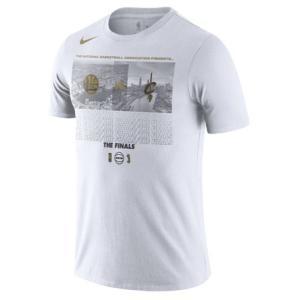 ナイキ Tシャツ Nike 2018 NBA Finals Bound Dueling Team Matchup T-Shirt メンズ White 半袖 troishomme