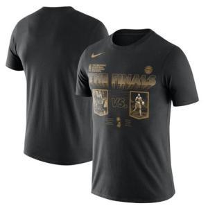 ナイキ Tシャツ Nike 2018 NBA Finals Bound Dueling Head To Head T-Shirt メンズ Black 半袖 troishomme