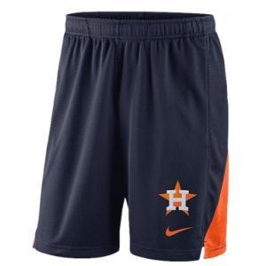 ナイキ メンズ Nike MLB Franchise Knit Shorts ショーツ ハーフパンツ Houston Astros | Navy|troishomme