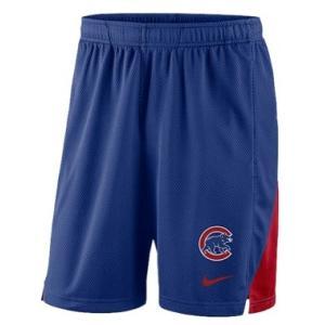 ナイキ メンズ Nike MLB Franchise Knit Shorts ショーツ ハーフパンツ Chicago Cubs | Blue|troishomme
