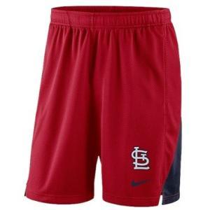 ナイキ メンズ Nike MLB Franchise Knit Shorts ショーツ ハーフパンツ St. Louis Cardinals | Red|troishomme