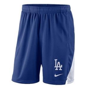 ナイキ メンズ Nike MLB Franchise Knit Shorts ショーツ ハーフパンツ Los Angeles Dodgers | Royal|troishomme