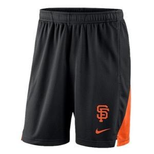 ナイキ メンズ Nike MLB Franchise Knit Shorts ショーツ ハーフパンツ San Francisco Giants | Black|troishomme