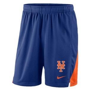 ナイキ メンズ Nike MLB Franchise Knit Shorts ショーツ ハーフパンツ New York Mets | Royal|troishomme