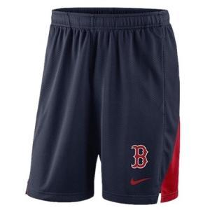 ナイキ メンズ Nike MLB Franchise Knit Shorts ショーツ ハーフパンツ Boston Red Sox | Navy|troishomme