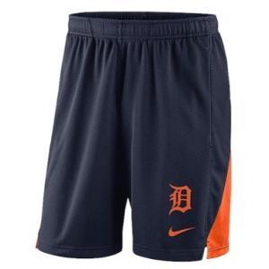 ナイキ メンズ Nike MLB Franchise Knit Shorts ショーツ ハーフパンツ Detroit Tigers | Navy|troishomme