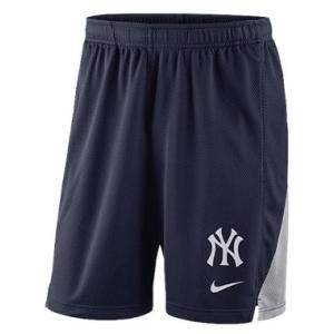 ナイキ メンズ ハーフパンツ Nike MLB Franchise Knit Shorts ニューヨーク ヤンキース New York Yankees | Navy|troishomme