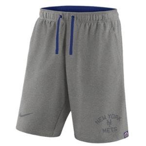 ナイキ メンズ Nike MLB Flux Game Shorts ショーツ ハーフパンツ New York Mets | Dark Grey Heather|troishomme