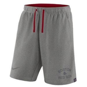 ナイキ メンズ Nike MLB Flux Game Shorts ショーツ ハーフパンツ Boston Red Sox | Dark Grey Heather|troishomme