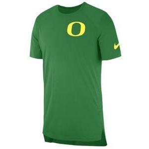 ナイキ メンズ Tシャツ Nike College S/S Shooter Shirt カレッジ NCAA Oregon Ducks Apple Green troishomme