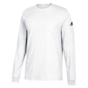 アディダス メンズ ロンT adidas Athletics Badge Of Sport Classic L/S T-Shirt ロングスリーブ Tシャツ パフォーマンス White|troishomme