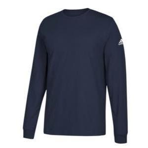 アディダス メンズ ロンT adidas Athletics Badge Of Sport Classic L/S T-Shirt ロングスリーブ Tシャツ パフォーマンス Collegiate Navy|troishomme