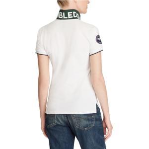 ラルフローレン ポロシャツ レディース/ウーマン Wimbledon Slim Fit Polo White ウィンブルドン Polo Shirt|troishomme|03
