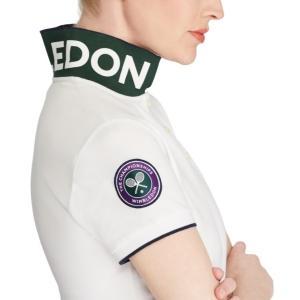 ラルフローレン ポロシャツ レディース/ウーマン Wimbledon Slim Fit Polo White ウィンブルドン Polo Shirt|troishomme|05