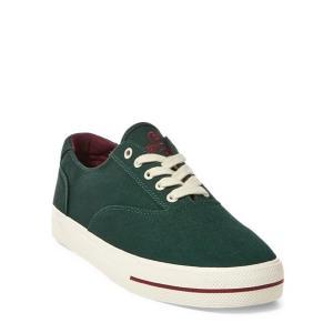 ラルフローレン メンズ スニーカー Polo Ralph Lauren CP-93 Canvas Low-Top Sneaker 靴 College Green|troishomme