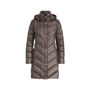 ラルフローレン レディース/ウーマン Polo Ralph Lauren Faux Suede-Trim Down Jacket ジャケット コート CONCRETE|troishomme