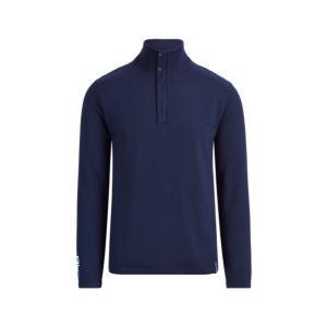 ラルフローレン メンズ Polo Ralph Lauren RLX GOLF Wool-Blend Sweater Shirt セーター 長袖 ゴルフ FRENCH NAVY troishomme