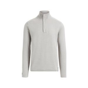 ラルフローレン メンズ Polo Ralph Lauren RLX GOLF Wool-Blend Sweater Shirt セーター 長袖 ゴルフ SOFT GREY troishomme