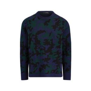 ラルフローレン メンズ Polo Ralph Lauren RLX GOLF Camo Wool-Blend Sweater Shirt セーター 長袖 ゴルフ BLACKWATCH RLX CAMO troishomme