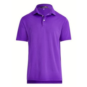 ポロ ラルフローレン メンズ Polo Ralph Lauren RLX Active Fit Performance Polo Shirt ポロシャツ 半袖 PURPLE RAGE|troishomme