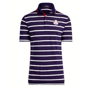 ポロ ラルフローレン メンズ Polo Ralph Lauren RLX U.S. Ryder Cup Team Polo Shirt ポロシャツ 半袖 WHT/FRENCH NAVY/RL2000RED|troishomme