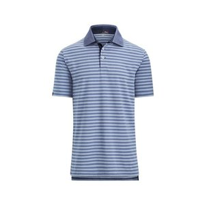 ラルフローレン メンズ Polo Ralph Lauren RLX GOLF Custom Slim Performance Polo Shirt ポロシャツ 半袖 ゴルフ PURE WHITE/AUSTIN BLUE|troishomme