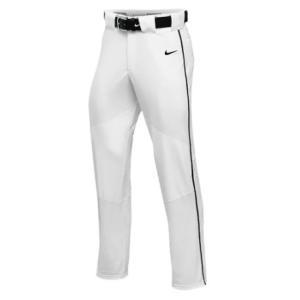 ナイキ ボーイズ / キッズ NIKE TEAM VAPOR PRO PANT PIPED スウェット ロングパンツ White/Black/Black|troishomme