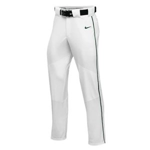 ナイキ ボーイズ / キッズ NIKE TEAM VAPOR PRO PANT PIPED スウェット ロングパンツ White/Dark Green/Dark Green|troishomme