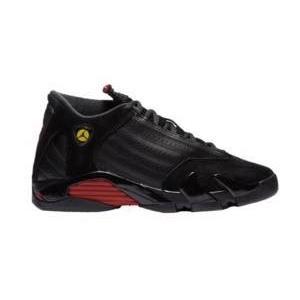 ジョーダン キッズ バッシュ Air Jordan Retro 14 XIV ミニバス Black/Varsity Red/Black troishomme