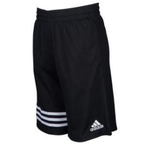 アディダス ボーイズ / キッズ adidas Defender Impact Shorts バスパン ショーツ ハーフパンツ Black|troishomme
