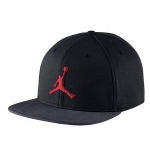 ジョーダン メンズ Jordan Jumpman Snapback Cap キャップ 帽子 Black/Dark Shadow/True Red troishomme