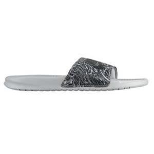ナイキ メンズ ベナッシ Nike Benassi JDI Slide サンダル スリッパ Wolf Grey/Anthracite|troishomme