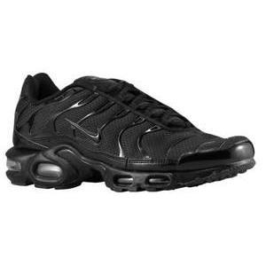 ナイキ メンズ スニーカー Nike Air Max Plus エアマックス プラス Black/Black/Black|troishomme