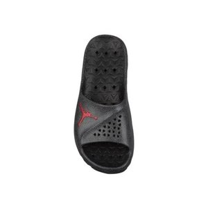 ジョーダン メンズ スーパーフライ チーム スライド Jordan Super.Fly Team Slide 2 サンダル Black/Gym Red/Dark Grey|troishomme|02