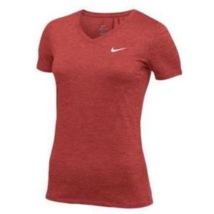 ナイキ レディース/ウーマン Nike Team Short Sleeve V-Neck Legend T-Shirt 半袖 Tシャツ Scarlet/White troishomme