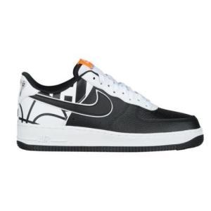 ナイキ エアフォース メンズ Nike Air Force 1 Low LV8<br> Black/Black/White ジョーダン Jordan スニーカー|troishomme
