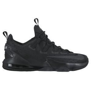 ナイキ ボーイズ/キッズ/レディース バッシュ Nike LeBron XIII 13 Low レブロン バスケ Black/Reflective Silver/Anthracite troishomme