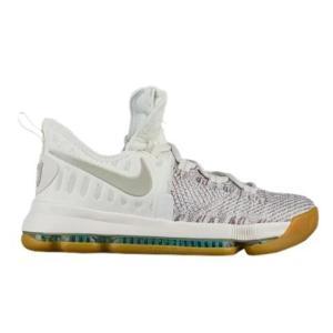 ナイキ キッズ/レディース Nike KD 9 GS バッシュ Ivory/Pale Grey ミニバス ケビンデュラント|troishomme