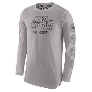 ナイキ メンズ ロンT Nike Long Sleeve ALT Hem Camo T-Shirt 長袖 ロングスリーブ Tシャツ Cobblestone|troishomme