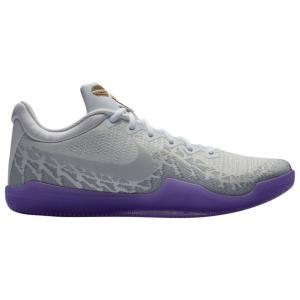 ナイキ メンズ Nike Kobe Mamba Rage バッシュ White/Pure Platinum/Purple/Metallic Gold コービー マンバ レイジ|troishomme