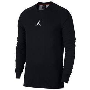 ジョーダン メンズ ロンT Jordan 23 Alpha Dry Long Sleeve Top Tシャツ バスケットボール ウェア Black/White|troishomme
