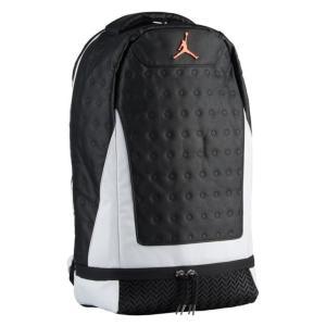ジョーダン レトロ13 バックパック Jordan Retro 13 Backpack リュック カバン Black/White|troishomme