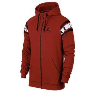 ジョーダン メンズ Jordan Jumpman Air HBR Full-Zip Hoodie フルジップ パーカー Gym Red/Black|troishomme