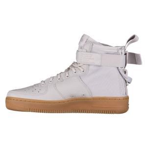 ナイキ レディース/ウーマン スニーカー Nike SF Air Force 1 Mid Vast Grey/Vast Grey/Gum Lt Brown エアフォースワン エアフォース1|troishomme