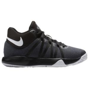 ナイキ キッズ/ジュニア バッシュ Nike KD Trey 5 V Preschool PS ケビン・デュラント Black/White|troishomme