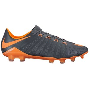 ナイキ メンズ サッカー シューズ Nike Hypervenom Phantom 3 Elite FG スパイク Dark Grey/Total Orange/White|troishomme